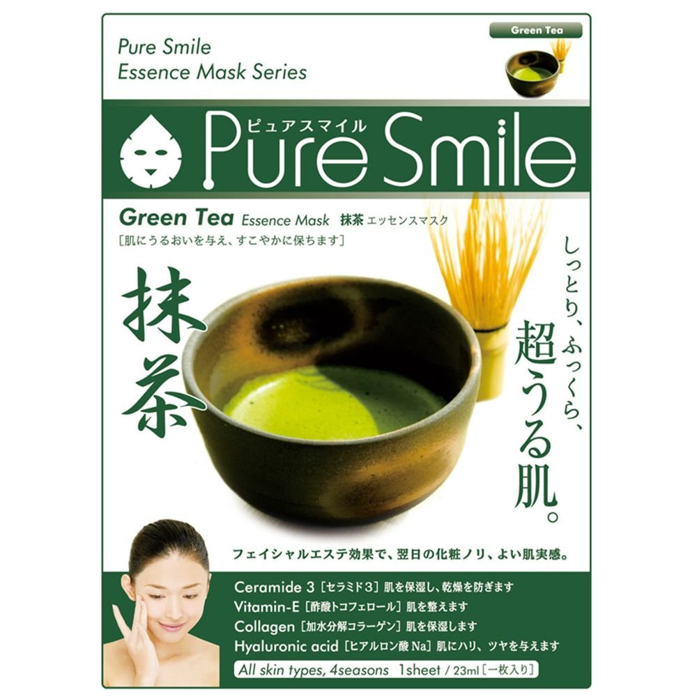 Puresmile Essence Mask  Green Tea