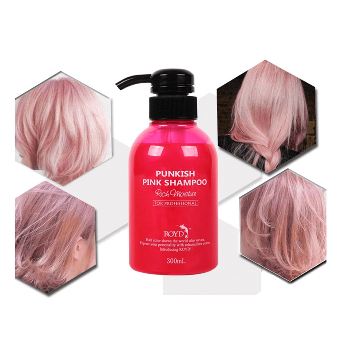 ROYD Color Shampoo Pink