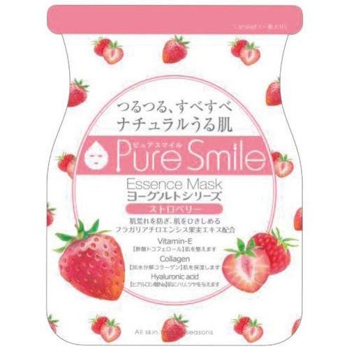 Puresmile Essence Mask  Strawberry Yogurt