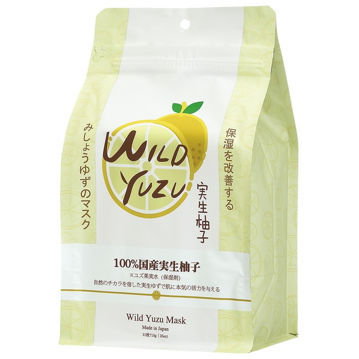 Sincere Laura Wild Yuzi Facial  Essence Mask 31s