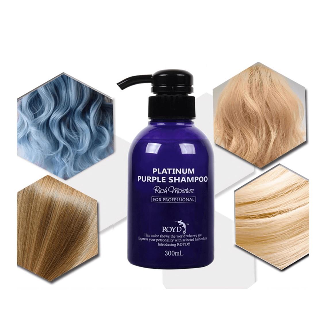 ROYD Color Shampoo Purple