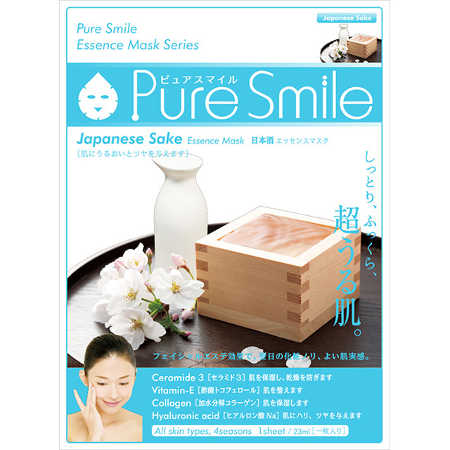 Puresmile Essence Mask  Sake