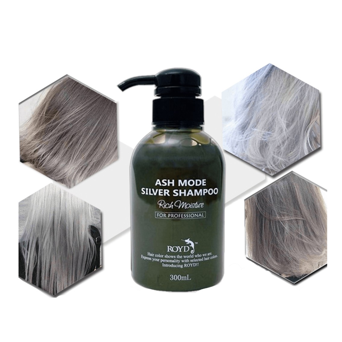 ROYD Color Shampoo Silver