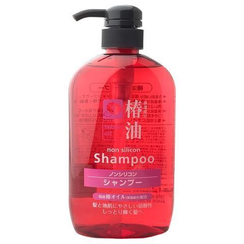 Kumano Tsubaki Shampoo Bottle 600ml