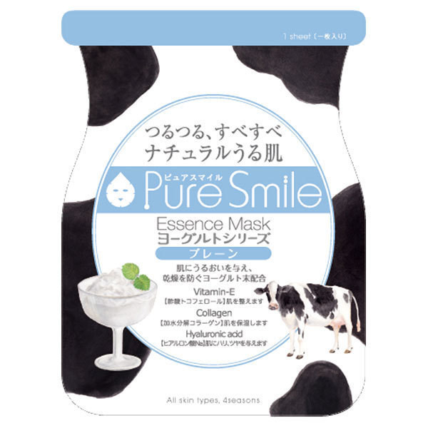 Puresmile Essence Mask  Plain Yogurt