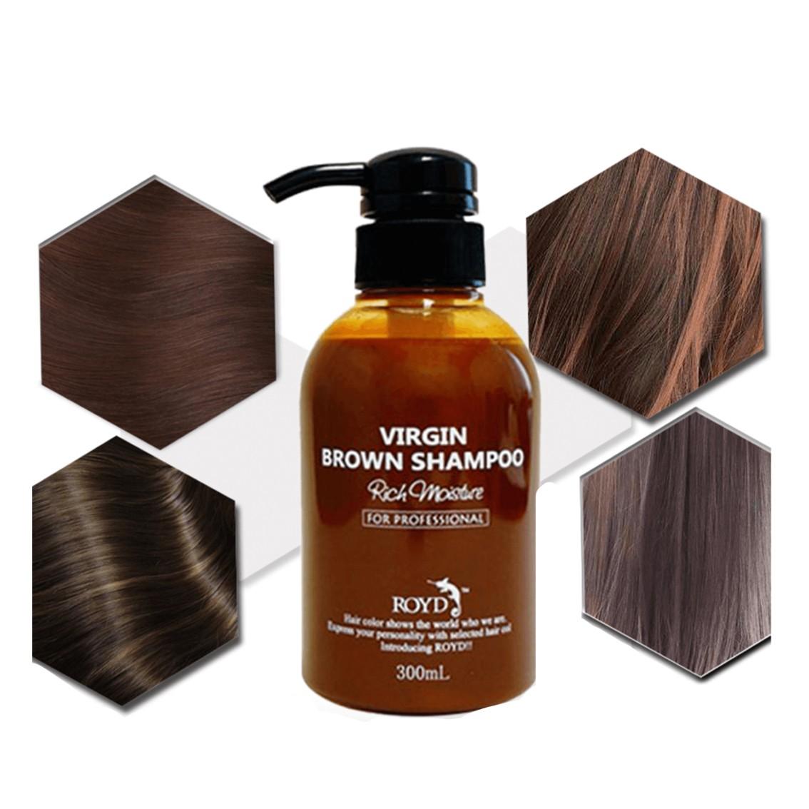 ROYD Color Shampoo Brown